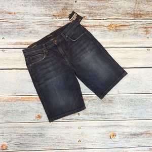 NEW Joe's Jeans Classic Bermuda Denim Shorts 27